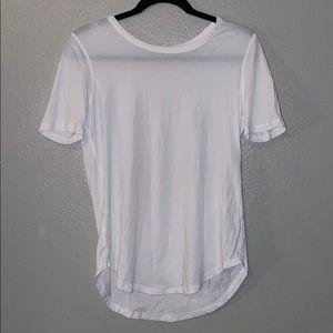 Lululemon basic white shirt